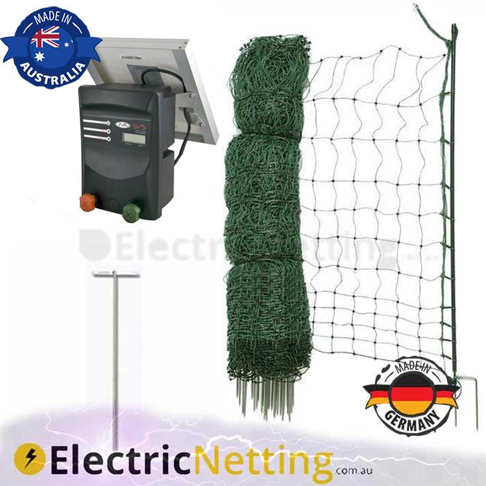 electric poultry net kit 50m Sv5 JVA
