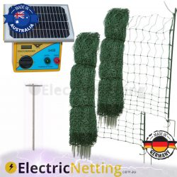 100m Poultry Netting Kit