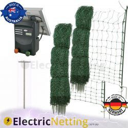 Electric Poultry Netting Kit 100m JVA
