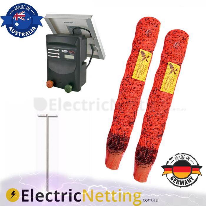 electric goat netting kit 100m JVA