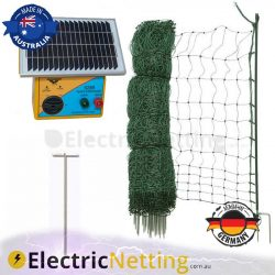 electric poultry net kit 25m s28b energiser