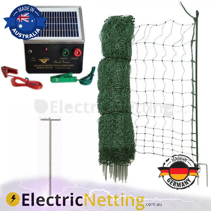 electric poultry net kit 25m