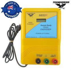 Thunderbird M650R 60km Remote Ready Energiser