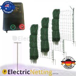 Poultry fence kit BLK16M energiser 150m