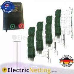 Poultry fence kit BLK16M energiser 200m