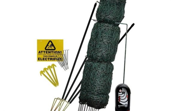Hotline Deluxe 25m Electric Poultry Netting Kit