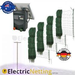 custom electric poultry netting kit JVA