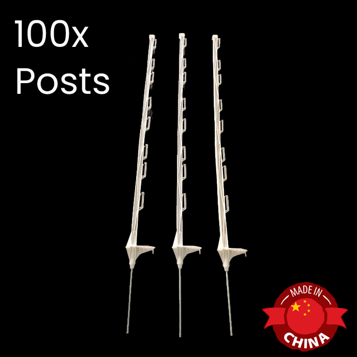 Plastic Step In Posts Set of 100s