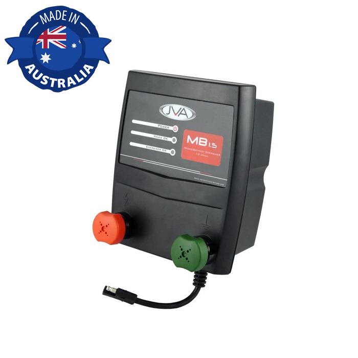 JVA MB1.5 Electric Fence Energizer with Solar control