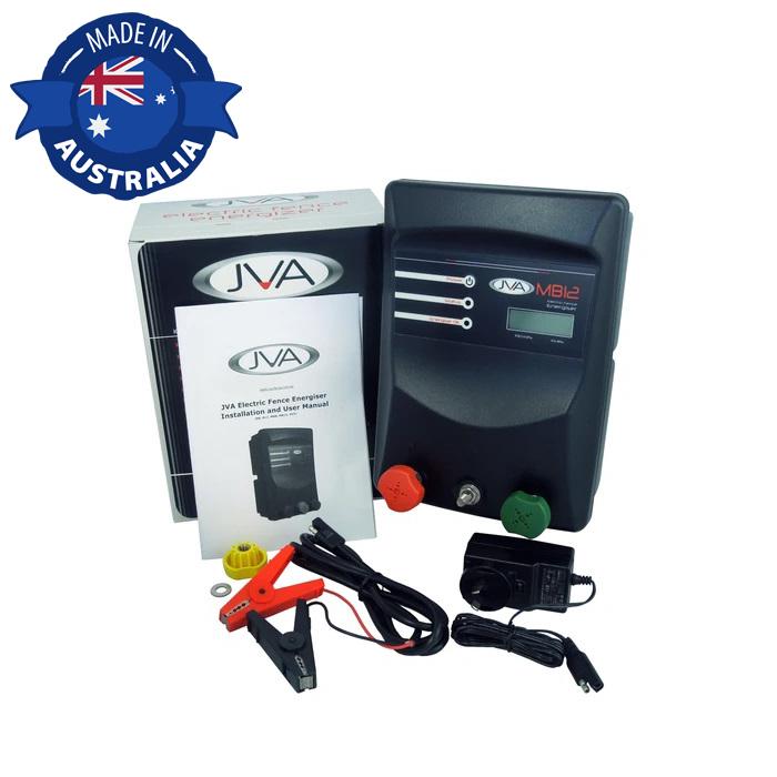 JVA MB12 Electric Fence Energizer Solar Kit