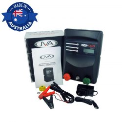 JVA MB8 Mains Battery Electric Fence IP Energizer Solar Kit