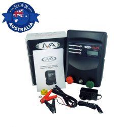 JVA MB8 Mains Battery Electric Fence IP Energizer Solar Kit