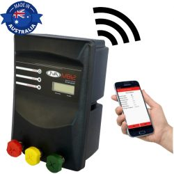 JVA MB12 Mains/Battery Electric Fence IP Energizer